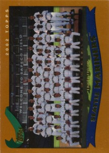 Topps Limited Edition Mariners Team Card