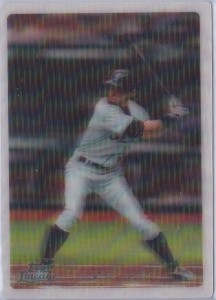 Topps Lineage 3D Black Line Mailing Address /99