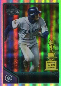 Topps Lineage Diamond Anniversary Refractor 196