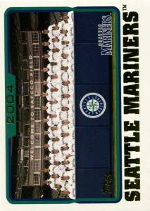 Topps Mariners Team Card
