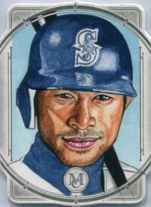 Topps Museum Collection Authentic Sketch Card 1/1