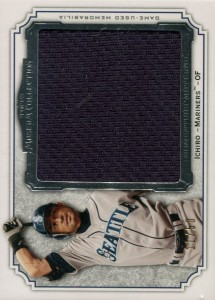 Topps Museum Collection Momentous Material Jumbo Relic /50