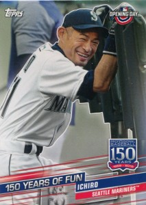 Topps Opening Day 150 Years of Fun