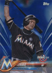Topps Opening Day Blue Foil