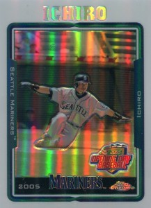 Topps Opening Day Chrome Refractor