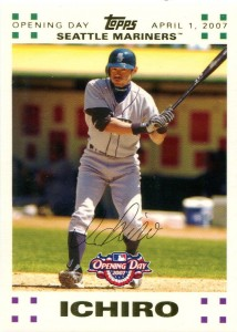 Topps Opening Day Gold /2007