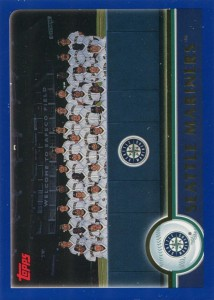 Topps Seattle Mariners Team Card