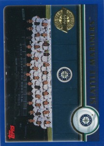 Topps Seattle Mariners Team Card Home Team Advantage