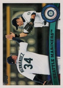 Topps Seattle Mariners Team Checklist