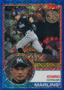 Topps Silver Pack Promo Blue Refractor /150