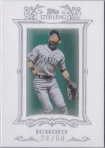 Topps Sterling White Suede #51 /50
