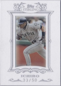 Topps Sterling White Suede #54 /50