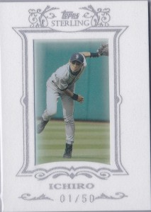 Topps Sterling White Suede #55 /50