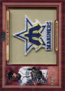 Topps Throwback Manufactured Patch 1980 M's