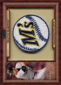 Topps Throwback Manufactured Patch 1992 M's