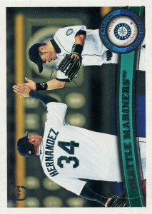 Topps Throwback Target Exclusive Seattle Mariners Checklist