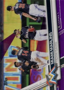 Topps Toys R Us Miami Marlins Team Card