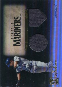 Topps Tribute Black Refractor Dual Relic /50