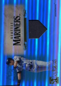 Topps Tribute Blue Refractor Single Relic /75