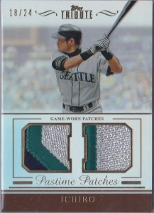 Topps Tribute Pastime Patches /24
