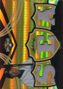 Topps Triple Threads Gold Relic #TTR-107 /9