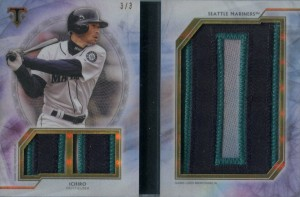 Topps Triple Threads Letter Plus Relic Booklet /3