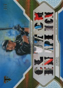 Topps Triple Threads Sapphire Patches /3