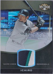 Topps Triple Threads Unity Relic Patch /27