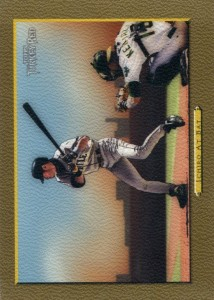 Topps Turkey Red Gold Ichiro at Bat Front /50