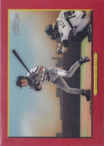 Topps Turkey Red Red Parallel Ichiro at Bat