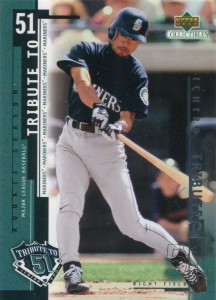 UD Collectibles Ichiro Tribute to 51 #I1