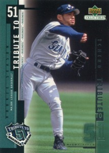 UD Collectibles Ichiro Tribute to 51 #I10