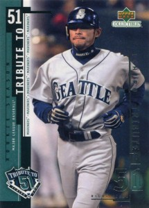 UD Collectibles Ichiro Tribute to 51 #I11