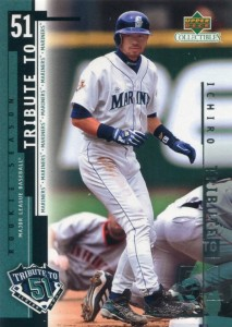 UD Collectibles Ichiro Tribute to 51 #I13
