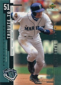 UD Collectibles Ichiro Tribute to 51 #I14
