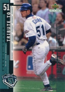 UD Collectibles Ichiro Tribute to 51 #I15