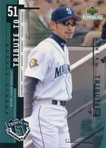 UD Collectibles Ichiro Tribute to 51 #I16