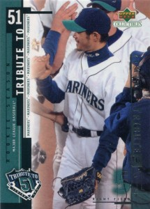 UD Collectibles Ichiro Tribute to 51 #I19