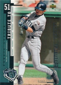 UD Collectibles Ichiro Tribute to 51 #I2