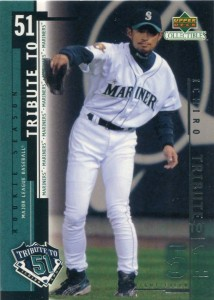 UD Collectibles Ichiro Tribute to 51 #I6