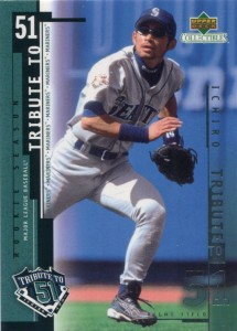 UD Collectibles Ichiro Tribute to 51 #I7