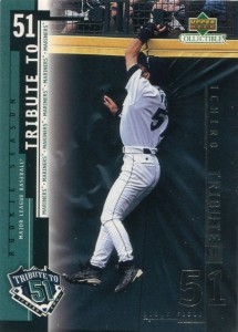 UD Collectibles Ichiro Tribute to 51 #I8