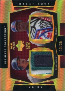Ultimate Collection Dual Patch Game Used Gold w Sosa /35