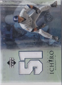 Ultimate Collection Ichiro Home Game Jersey White SP