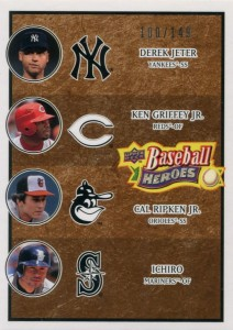 Upper Deck Baseball Heroes Brown Multiplayer /149