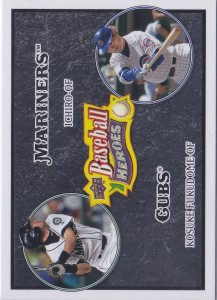 Upper Deck Baseball Heroes Charcoal with Fukudome