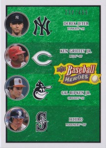 Upper Deck Baseball Heroes Green Multiplayer /499