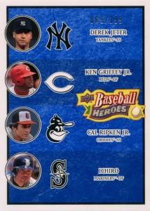 Upper Deck Baseball Heroes Navy Multiplayer /199