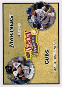 Upper Deck Baseball Heroes with Fukudome