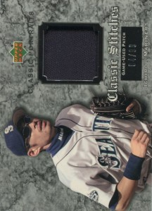 Upper Deck Classic Portraits Classic Stitches Game Used Patch /99